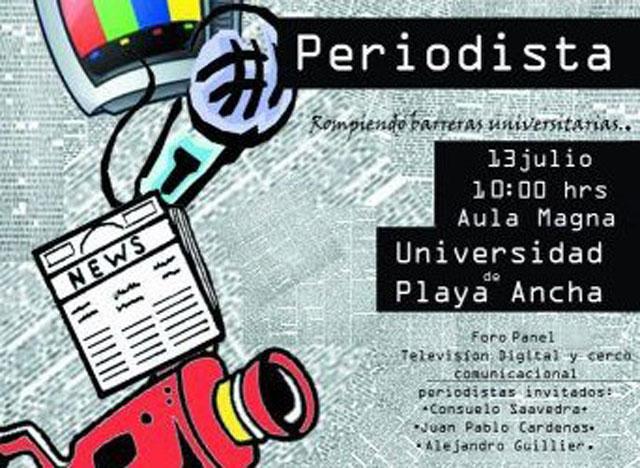 "Estudiantes organizan el ""Primer Festival del Periodista"""