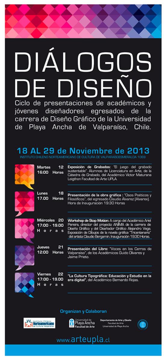 Encuentro de dise o gr fico se inicia en instituto chileno for Diseno grafico universidades