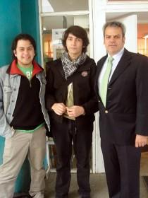 Visita Liceo Alfredo Nazar Feres