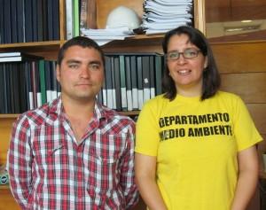 Fdo. Arancibia y Eva Soto